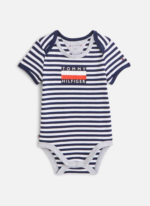 Kleding Accessoires Body manches courtes Baby Striped Body S/S