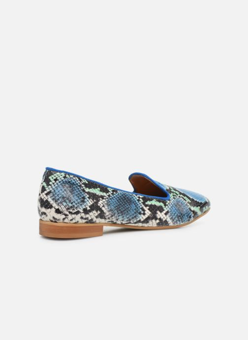 Mocassini Made by SARENZA Africa Vibes Mocassins #2 Azzurro immagine frontale