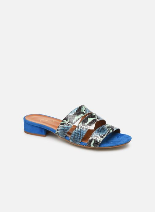 Wedges Made by SARENZA Africa Vibes Mule #2 Blauw rechts