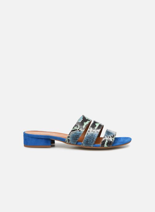 Wedges Made by SARENZA Africa Vibes Mule #2 Blauw detail