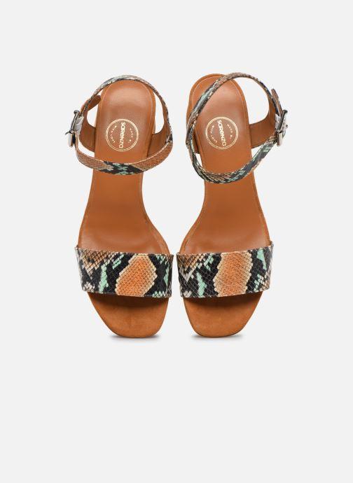 Sandali e scarpe aperte Made by SARENZA Africa Vibes Sandales à Talons #3 Multicolore modello indossato