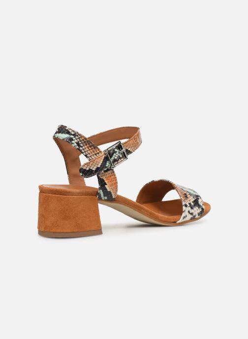 Sandales et nu-pieds Made by SARENZA Africa Vibes Sandales à Talons #3 Multicolore vue face