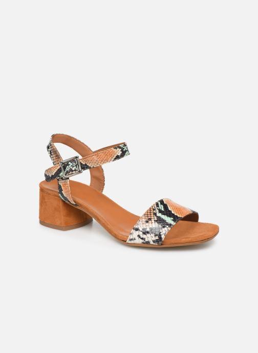 Sandales et nu-pieds Made by SARENZA Africa Vibes Sandales à Talons #3 Multicolore vue droite