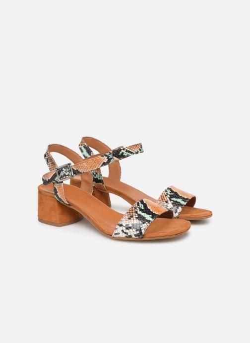 Sandales et nu-pieds Made by SARENZA Africa Vibes Sandales à Talons #3 Multicolore vue derrière