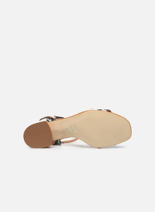 Sandales et nu-pieds Made by SARENZA Africa Vibes Sandales à Talons #3 Multicolore vue haut