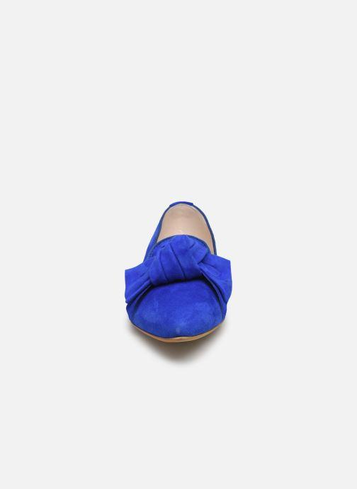 Mocassins Georgia Rose Lusino Bleu vue portées chaussures