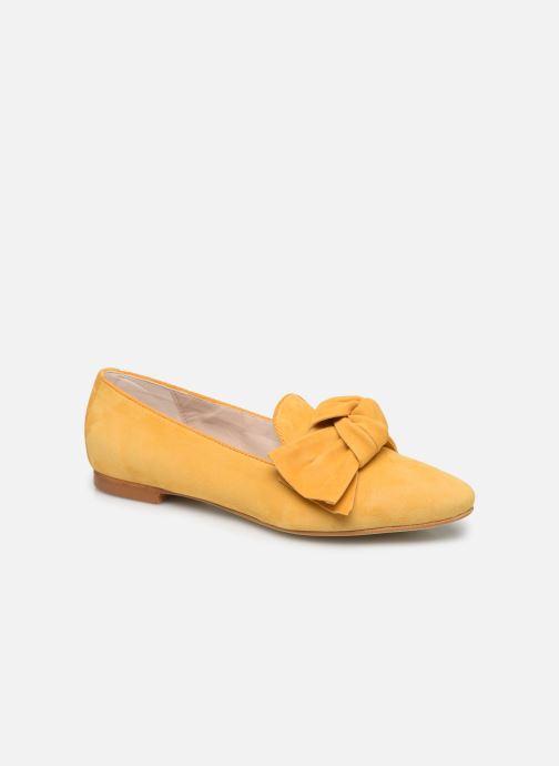 Mocasines Georgia Rose Lusino Amarillo vista de detalle / par