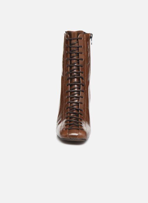 Bottines et boots Jonak BRILLO Marron vue portées chaussures