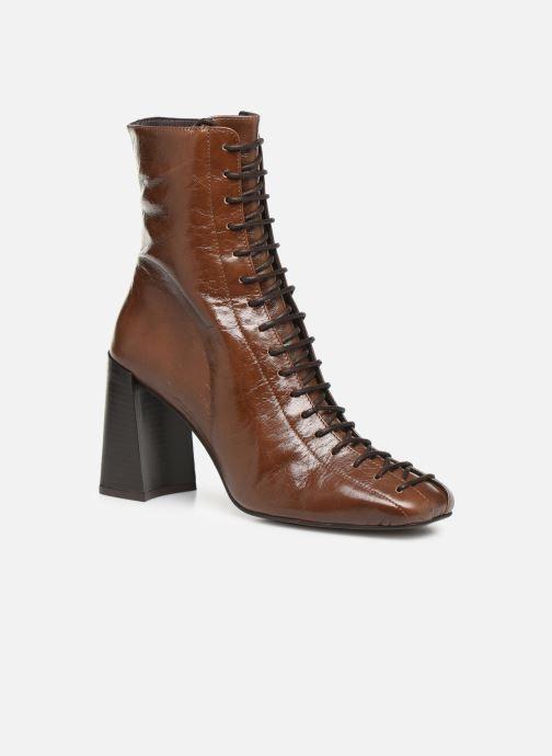 Bottines et boots Jonak BRILLO Marron vue détail/paire