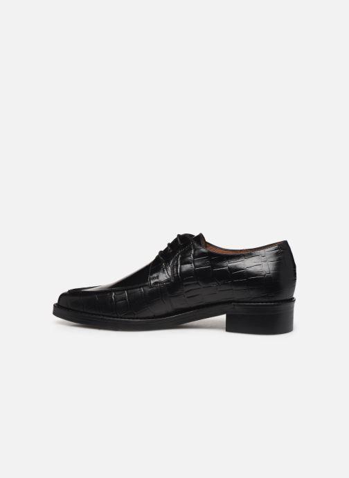 Zapatos con cordones Jonak DEFIM Negro vista de frente