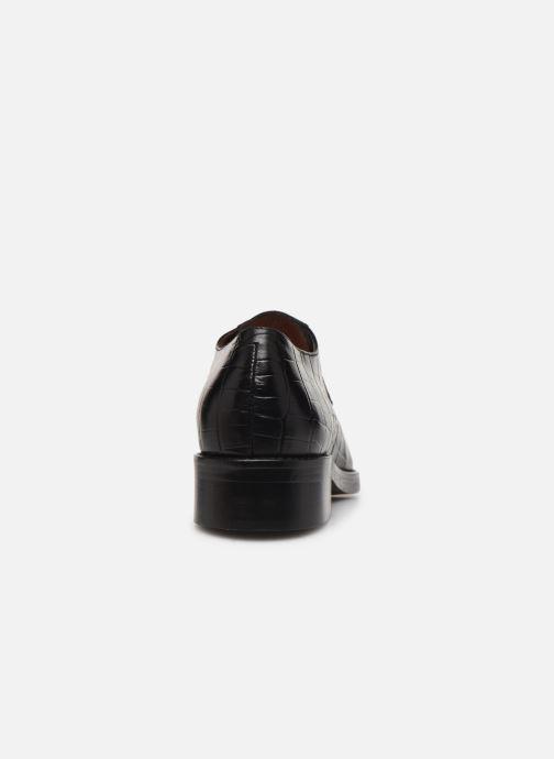 Zapatos con cordones Jonak DEFIM Negro vista lateral derecha