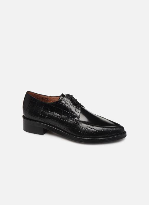 Snøresko Jonak DEFIM Sort detaljeret billede af skoene
