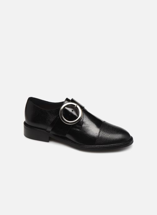 Lace-up shoes Jonak DUNH Black detailed view/ Pair view