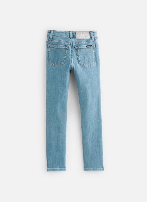 Vêtements Calvin Klein Jean Skinny Hr Pine Foil Bl Str Bleu vue bas / vue portée sac
