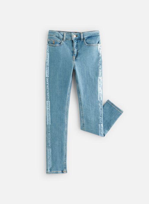 Vêtements Calvin Klein Jean Skinny Hr Pine Foil Bl Str Bleu vue détail/paire