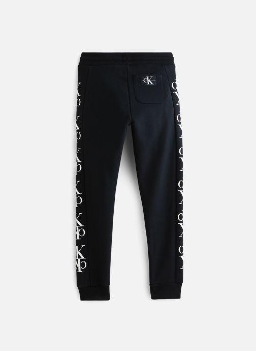 Vêtements Calvin Klein Pantalon de survêtement Mirror Monogram Sweatpants Noir vue bas / vue portée sac
