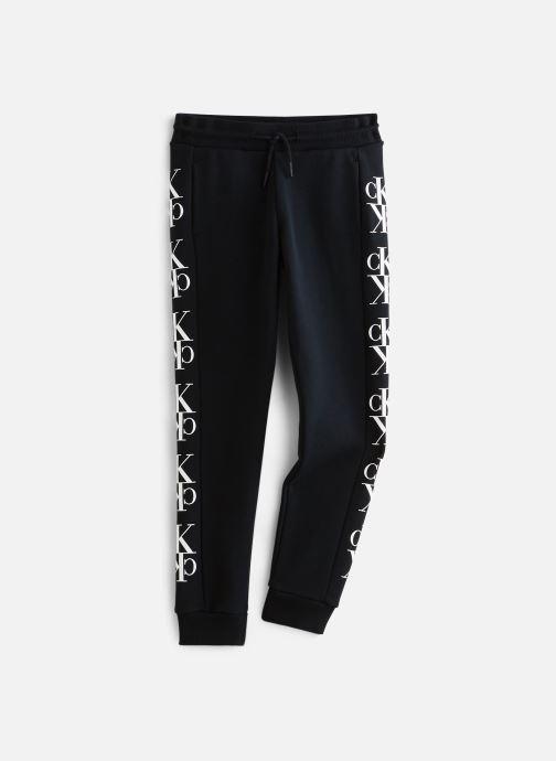 Vêtements Calvin Klein Pantalon de survêtement Mirror Monogram Sweatpants Noir vue détail/paire