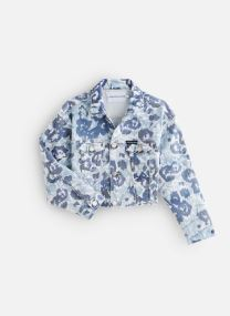 Veste Jacket Girls W Flower Bl Com