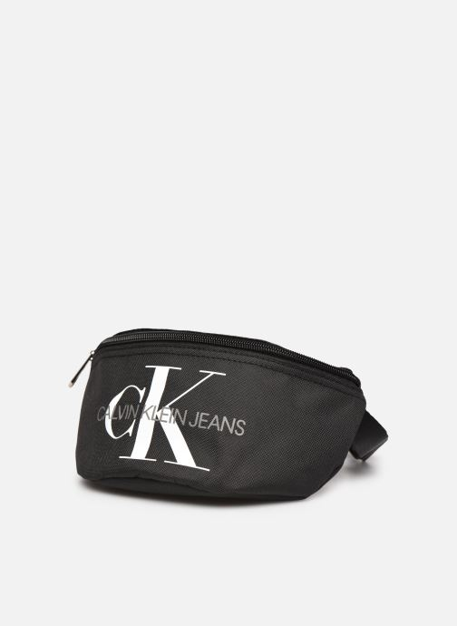 Handtaschen Calvin Klein Sacs Kids Monogram Waist Pack schwarz schuhe getragen