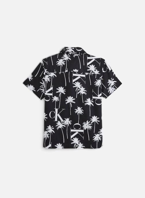 Kleding Calvin Klein Chemise Palm Aop Ss Zwart onder