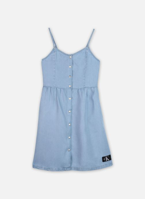 Robe mini Light Denim Strap Dress