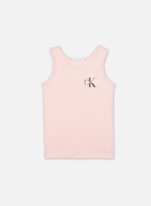 T-shirt Small Monogram Sleeveless Top
