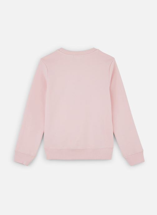 Vêtements Calvin Klein Sweatshirt Monogram Logo Rose vue bas / vue portée sac