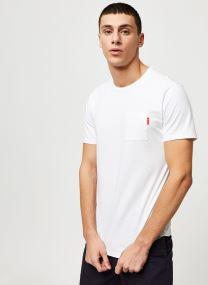 T-shirt - Ams Blauw classic pocket tee