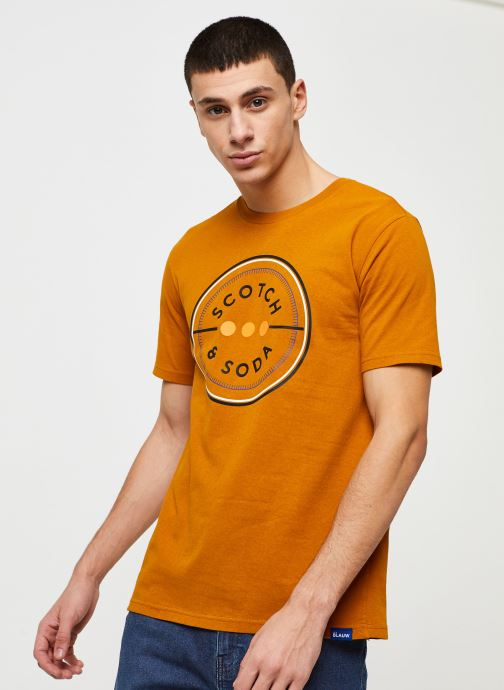Scotch & Soda crew neck logo tee