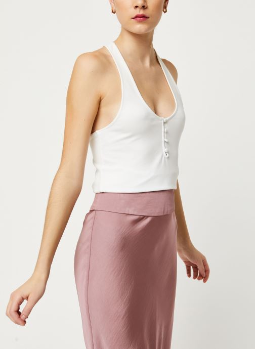 Kleding Free People HANG OUT CAMI Wit detail