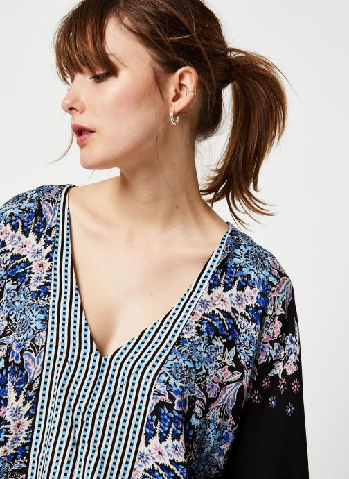 Vêtements Free People MIX N MATCH BLOUSE Noir vue face