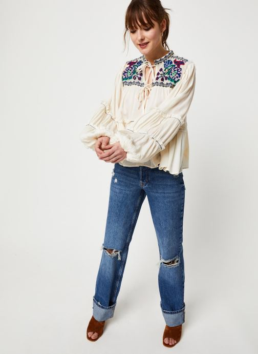 Vêtements Free People IN VIVID COLOR TOP Blanc vue bas / vue portée sac