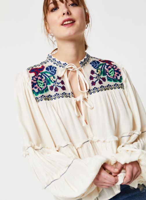 Vêtements Free People IN VIVID COLOR TOP Blanc vue face