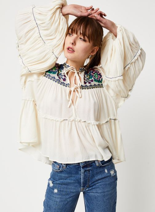 Blouse - In Vivid Color Top