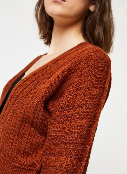 Vêtements Free People MOON RIVER CARDIGAN Marron vue face
