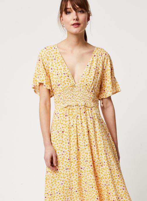 Vêtements Free People IN FULL BLOOM DRESS Jaune vue détail/paire