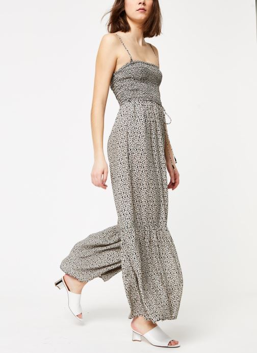 Vêtements Free People LITTLE OF YOUR LOVE JUMPSUIT Noir vue bas / vue portée sac
