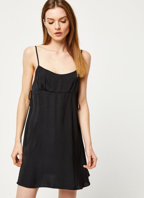Vêtements Free People SMOOTH SAILIN' MINI SLIP DRESS Noir vue droite