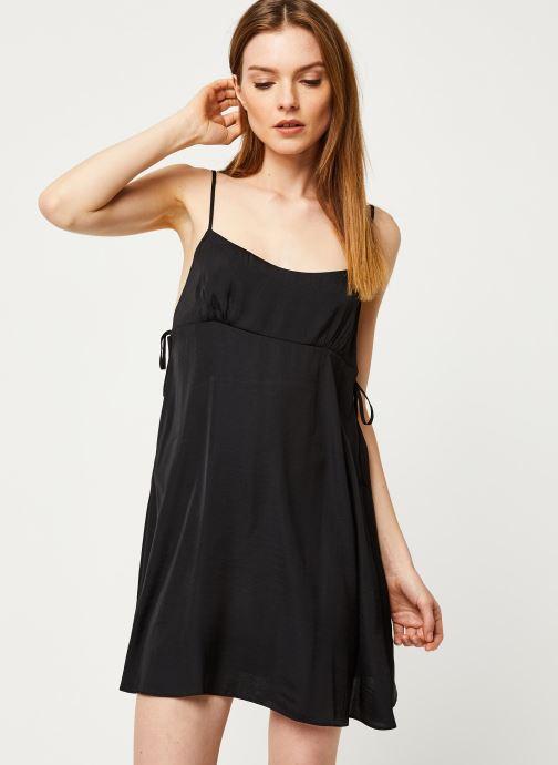 Vêtements Free People SMOOTH SAILIN' MINI SLIP DRESS Noir vue détail/paire