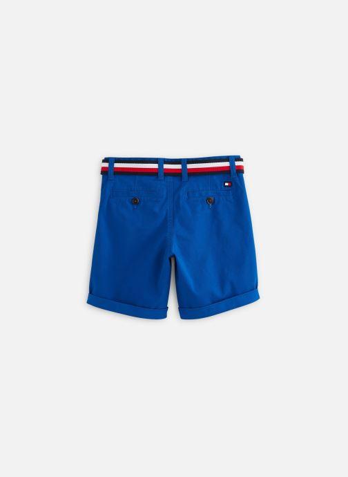 Vêtements Tommy Hilfiger Bermuda Essential Belted Chino Shorts Bleu vue bas / vue portée sac