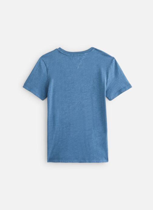 Vêtements Tommy Hilfiger T-shirt  Essential Logo Tee S/S Bleu vue bas / vue portée sac
