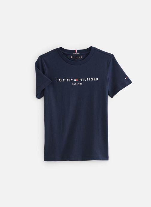 Kleding Tommy Hilfiger T-shirt Essential Tee S/S Blauw detail