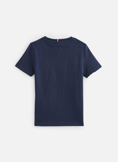 Vêtements Tommy Hilfiger T-shirt Th Flag Tee S/S Bleu vue bas / vue portée sac
