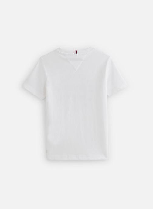 Kleding Tommy Hilfiger T-shirt Th Flag Tee S/S Wit onder