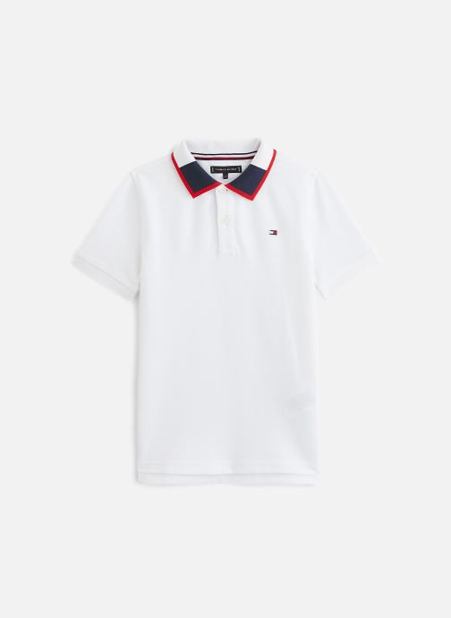 Polo - Polo Intarsia Collar Polo S/S