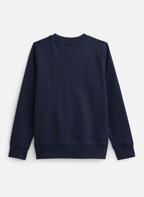 Vêtements Tommy Hilfiger Sweatshirt  Essential Cn Sweatshirt Bleu vue bas / vue portée sac