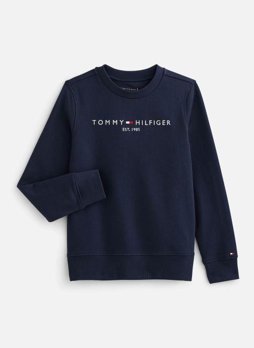 Vêtements Tommy Hilfiger Sweatshirt  Essential Cn Sweatshirt Bleu vue détail/paire