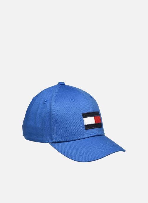 Casquettes Tommy Hilfiger Casquette Big Flag Junior Bleu vue détail/paire