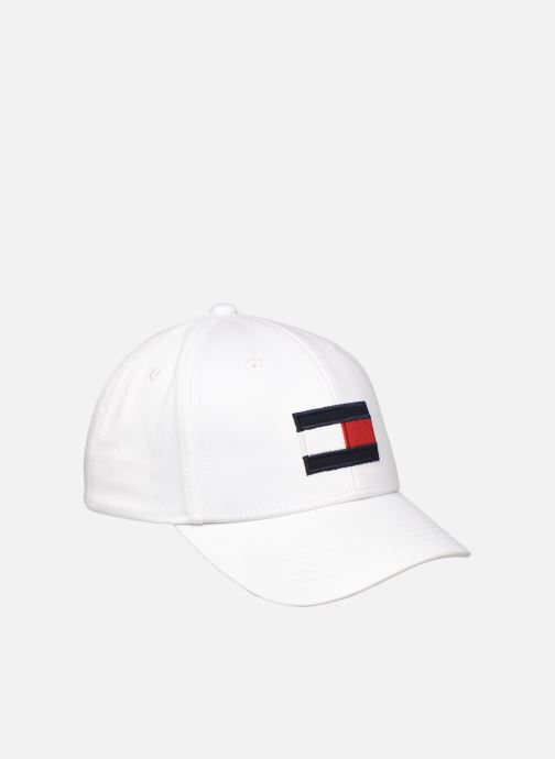Pet Tommy Hilfiger Casquette Big Flag Junior Wit detail