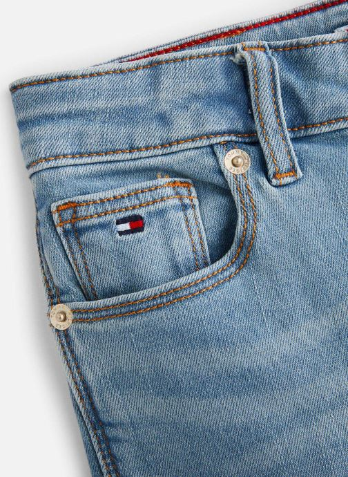 Vêtements Tommy Hilfiger Jean slim  Nora Rr Skinny Oclbst Bleu vue portées chaussures